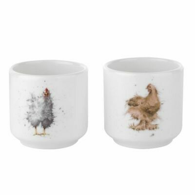 Royal Worcester Wrendale Pair of Egg Cups