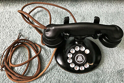 Antique Western Electric  Oval Base Phone E1 Handset
