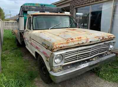 1968 ford f 350 tow truck project