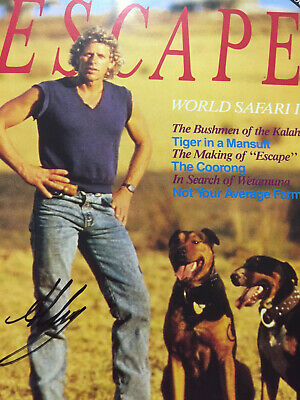 Collectable SIGNED Alby Mangels original ESCAPE Magazine
