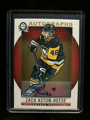 2018-19 OPC Coast To Coast Canadian Tire Rookie Autographs Zach Aston-Reese #161
