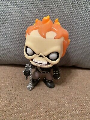 Funko Pop marvel ghost rider#18 vaulted!! Out of box