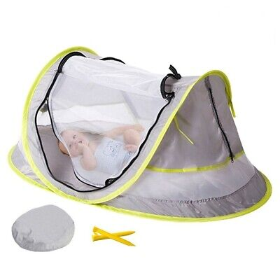 Portable Baby Crib Travel Bed Beach Tent with UV Protection-GET