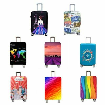 Travel Luggage Cover Suitcase Protector Dust Covers Case Fits 18-32 Inch