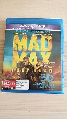 Mad Max Fury Road (2015) Blu-ray - Like New