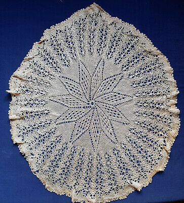 Lace doily, large and very soft, vintage
