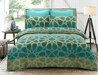 Single and Queen Size Doona Duvet Quilt Cover with pillowcases