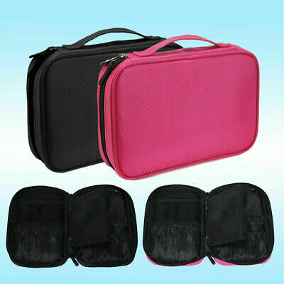 Portable Makeup Bag Cosmetic Brush Case Holder Travel Storage Pouch Organizer