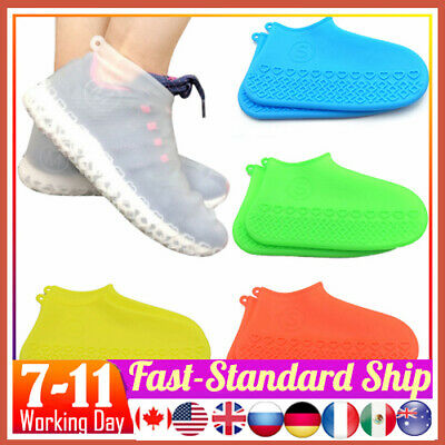 Silicone Overshoes Rain Waterproof Shoe Covers Boot Cover Protector 50% OFF