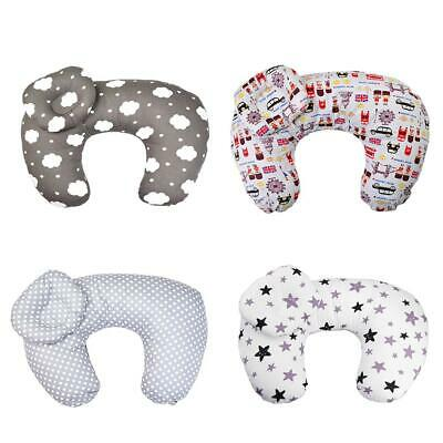 2pcs/Set Baby Nursing Pillow Maternity U-Shape Cotton Breastfeeding Cushion BF#