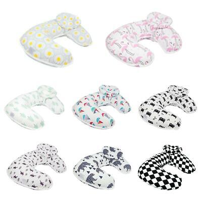 2pcs/set Baby Nursing Maternity Breastfeeding U-Shaped Infant Cotton Pillow BF#