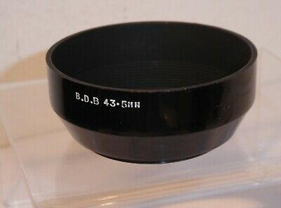BDB 43.5mm SCREW THREAD LENS HOOD , PERFECT for the OLYMPUS TRIP 35 COMPACT