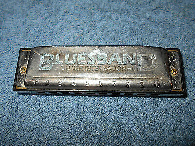 Hohner Blues Band Harmonica In Key Of C - Nice