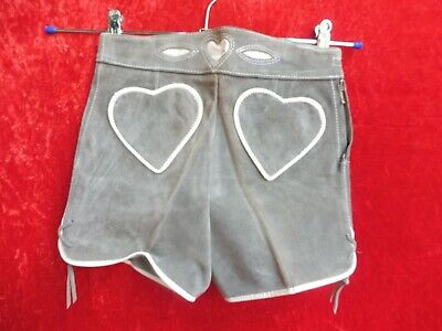 High Quality Leather Pants, Size 104, Made in Germany, Shorts, Kids