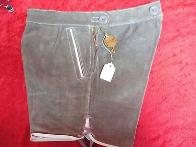 High Quality Leather Pants, Size 104, Made in Germany, Shorts, Children