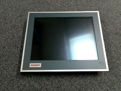 """Beckhoff Cp6902-0001-0010 15"""" Touch Screen Operator Interface Panel With Cd"""