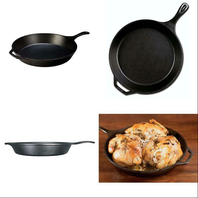 Lodge L14SK3 Skillet Cast Iron, 15 inch, Black