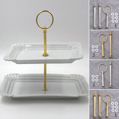 Plate stand Zinc alloy Cupcakes Hardware Tray Shelf Decoration Parties