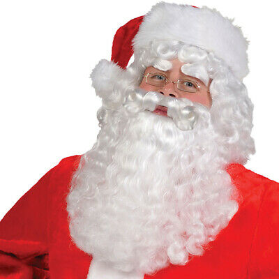 Santa Wig and Beard Set Father Christmas