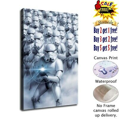 stormtroopers star wars HD Canvas prints Home Decor Wall art picture 12X18inch