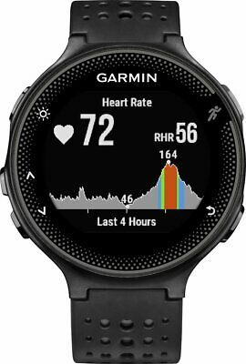 Garmin Forerunner 235 GPS Running Watch & Activity Tracker Black and Grey - (VG)