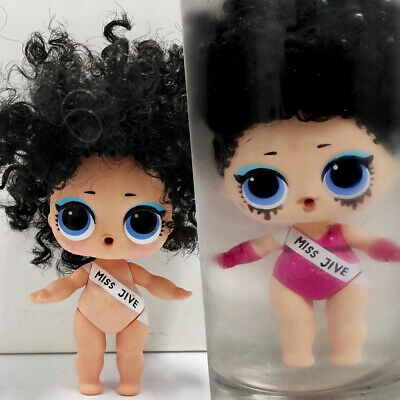 lol Surprise Hair goals doll Big Sister MISS JIVE Wave Black Hair Girls Gift
