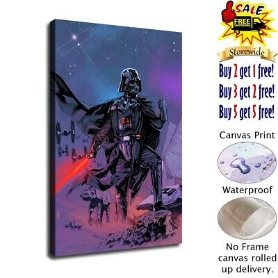 Darth Vader poster HD Canvas prints Home Decor Wall art picture 12X18inch