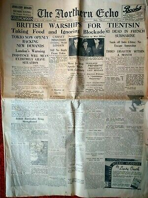 The Northern Echo newspaper 17th June 1939
