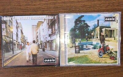 Oasis Whats The Story Morning Glory And Be Here Now Set