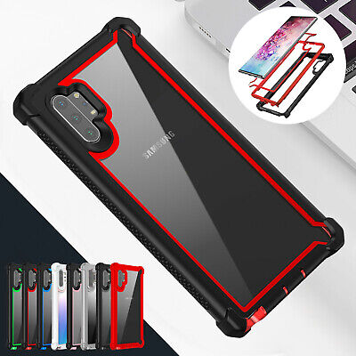 For Samsung Galaxy Note 10 Plus S10 S9 Slim Shockproof Case Rugged Hybrid Cover