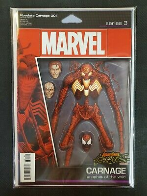 Absolute Carnage #1 JTC Action Figure Variant Marvel NM Comics Book