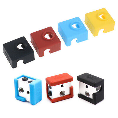 1PC 3D Printer Parts MK9 Protective Silicone Sock Cover Case For Heater Block TO