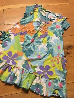 Girls Next Floral Lovely  Dress /top Age 6-8 128 Cms