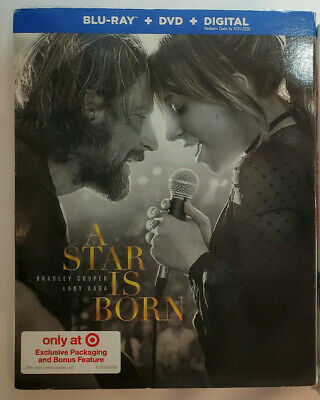 A Star Is Born (Target Exclusive) + Dirty Dancing Blu-ray+DVD+Digital+Slip Cover