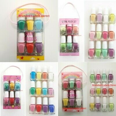 Primark Children Nail Polish Varnish Set Girls Set Of 12