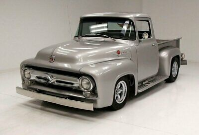 1956 Ford F100 Pickup Awesome Build Beautiful Exterior 347 Stroker Engine Finished Bed