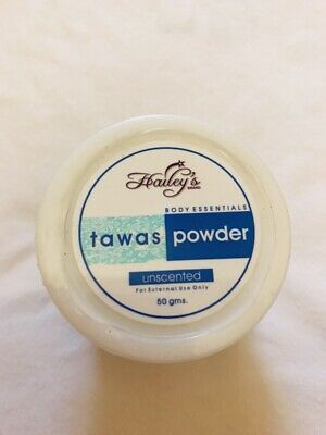 Body Powder alum tawas whitening anti body odour excessive sweating 50g