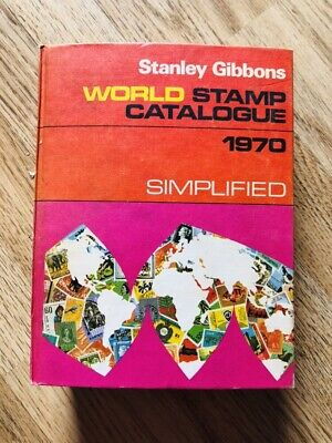 Stanley Gibbons World Stamp Catalogue 1970 Simplified Rare