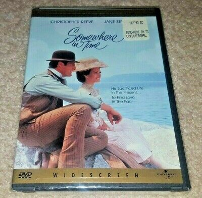 Somewhere in Time (DVD 2000) 1980 Christopher Reeve Jane Seymour NEW SEALED RARE