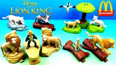 McDonald's LION KING HAPPY MEAL TOYS AUGUST 2019 SUPER FAST SHIPPING