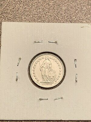 MS 1/2 Swiss .835 Silver Francs Coin Date 1951
