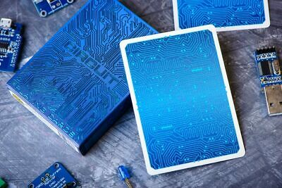 Circuit Playing Cards in Ice Blue from Elephant Playing Cards