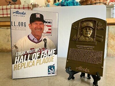 2019 Seattle Mariners SGA Edgar Martinez HOF Replica Plaque