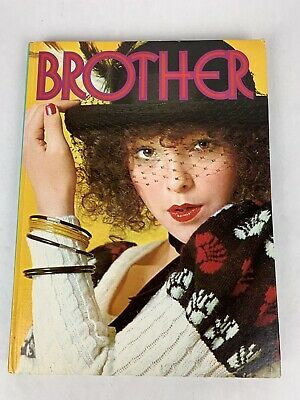 Brother Machine Knitting Book Design Stitching Yarn Punch Cards Japan 486325001