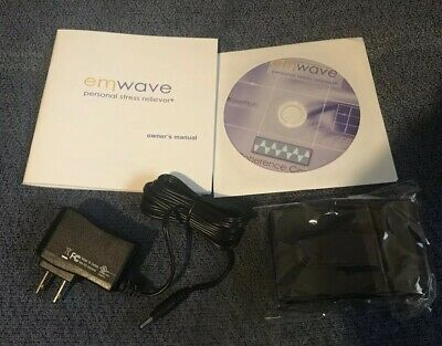 Emwave Replacement CD disc, Case , Cord & Owners Manual.