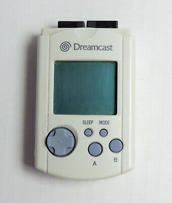 Dreamcast Official Visual Memory Unit / VMU Memory Card HKT-7000 Sega Genuine