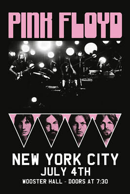 PINK FLOYD - NEW YORK CONCERT POSTER - 24x36 MUSIC 241252