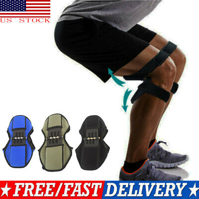 USA Leg Knee Stabilizer Pads Lift Joint Support Powerful Rebound Spring Force