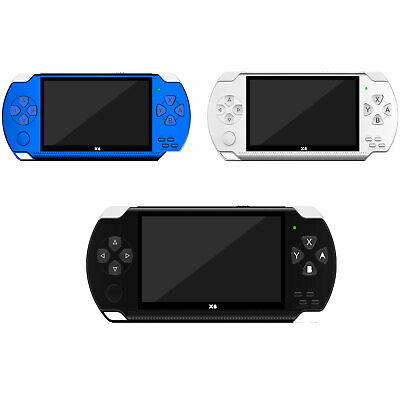 8GB Handheld PSP Game Player Built-in Games 4.3'' Portable Consoles 2019 NEW