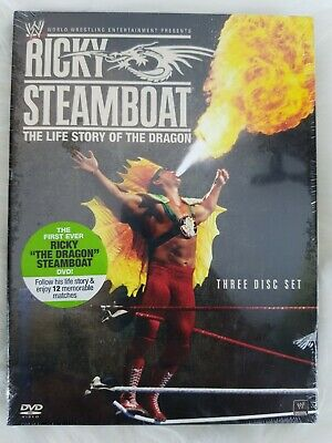 Ricky Steamboat: The Life Story of the Dragon [DVD] NEW! WWE World Wrestling